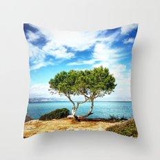 Tree in Focus Throw Pillow
