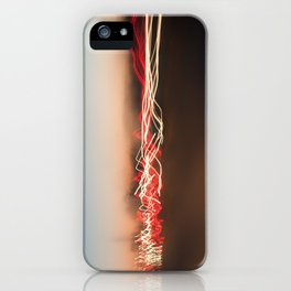 Light Waves iPhone Case