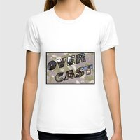 postcard T-shirts featuring OverCast Postcard by OverCastMC