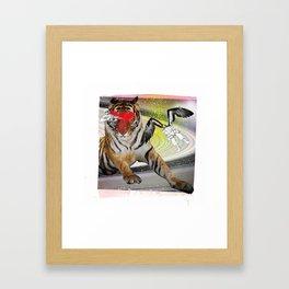 Gunpowder Eyes Framed Art Print