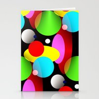 balloons Stationery Cards featuring Balloons by Artisimo (Keith Bond)