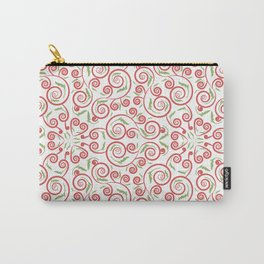 seamless pattern with leaves Carry-All Pouch