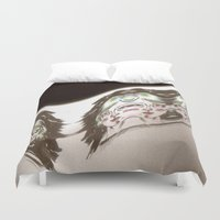 glitch Duvet Covers featuring Glitch by Rhys Prosser
