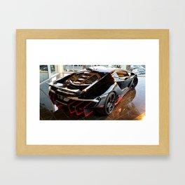 Centenario on display Framed Art Print
