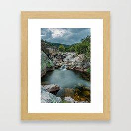 River Landscape Framed Art Print