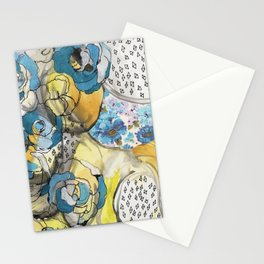 the blues...remix Stationery Cards