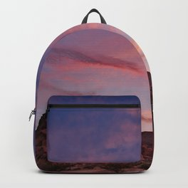 Arch Rock Sunset, Valley of Fire - I Backpack