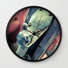 Fil-o-matic Gas Pump Wall Clock