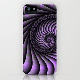 Optical Illusion, Modern Fractal Art Graphic iPhone Case