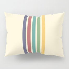 Rainbow Stripes IV Pillow Sham