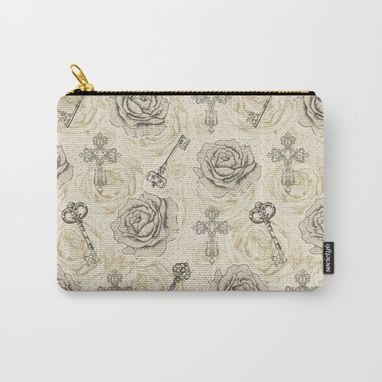 Roses & keys Carry-All Pouch