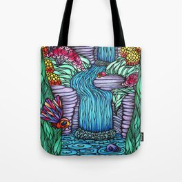Falling Water Tote Bag