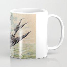 Vintage Ocean Swallow Coffee Mug