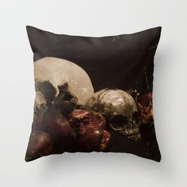 The Ripened Wisdom of the Dead Throw Pillow