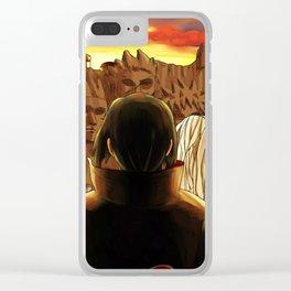 uciha itachi Clear iPhone Case