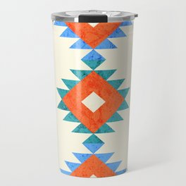 geometry navajo pattern no3 Travel Mug