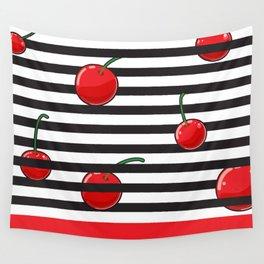 Cherry season Wall Tapestry