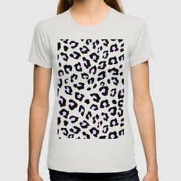 Leopard Print - Lavender Blush T-shirt