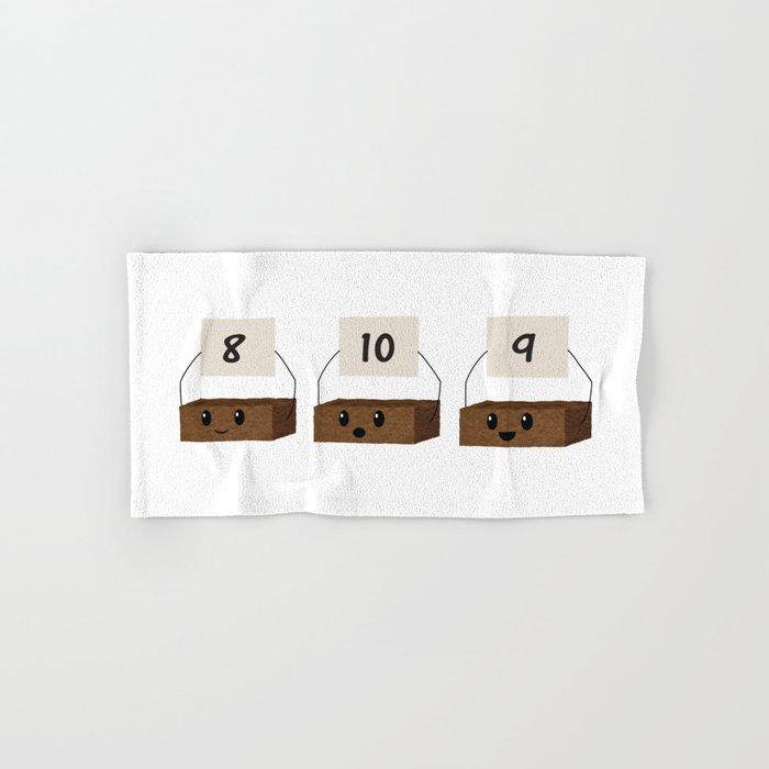 Brownie Points Hand & Bath Towel