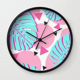 Baby Tropical Fantasy Wall Clock