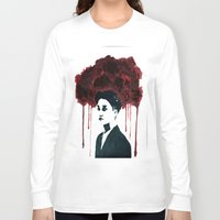 kpop Long Sleeve T-shirts featuring Bloody Kai by Ahri Tao