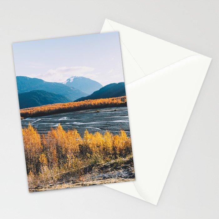 Alaskan Autumn - Kenai Fjords National Park Stationery Cards