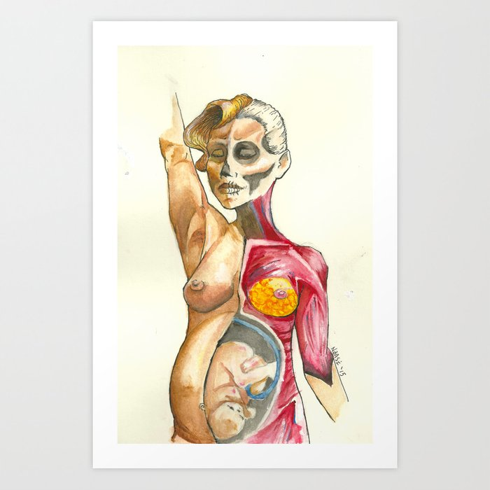 Amanda Palmer Verity Art Print