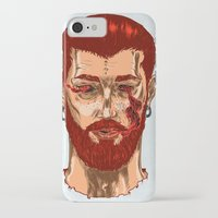 smoke iPhone & iPod Cases featuring Smoke by Nicolae Negura