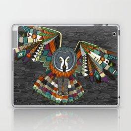night owl charcoal Laptop & iPad Skin