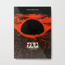 AkiraAnime Metal Print