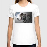 werewolf T-shirts featuring Werewolf by Michelena