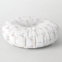 Mama Llama Floor Pillow