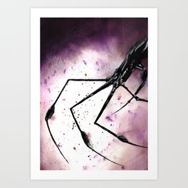 Spider Fingers Art Print