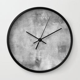 Simply Concrete Gray- Mix and Match with Simplicity of Life Wall Clock