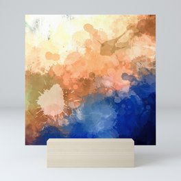 """Modern Contemporary """" Tranquility""""Abstract Mini Art Print"""