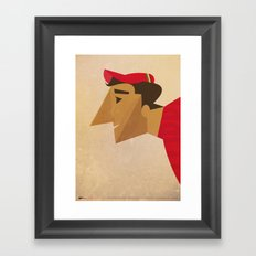 Fausto Framed Art Print