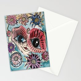 Mind Paralysis Stationery Cards