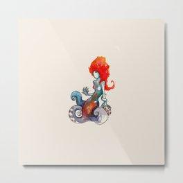 Octomaiden Metal Print