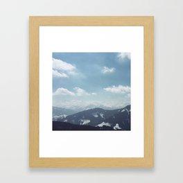 The alps 1 Framed Art Print