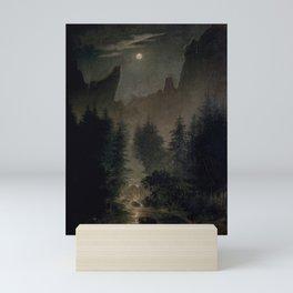 Caspar David Friedrich - Uttewalder Grund Mini Art Print