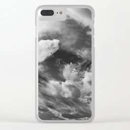 Brewing Storm IV Clear iPhone Case
