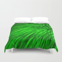 emerald Duvet Covers featuring Emerald by Simply Chic