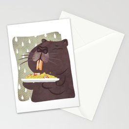 Nutria, yellow rice and bad weather - Welcome to Lombardy Stationery Cards
