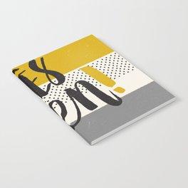 Très Bien on Stripes Notebook