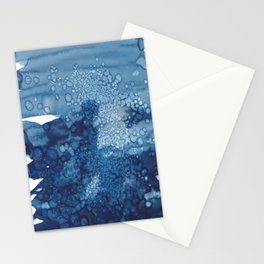 Large cloud hitting the rocks in Sea Point Stationery Cards
