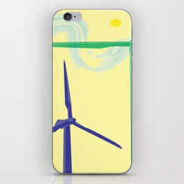 windmills iPhone Skin