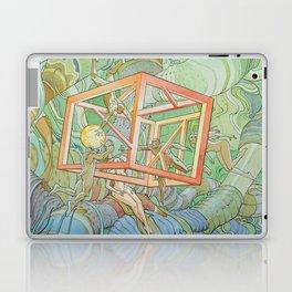 weird alien Laptop & iPad Skin