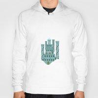 castle in the sky Hoodies featuring Sky castle simple by loligo