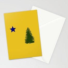 Maine (1901 flag) Stationery Cards