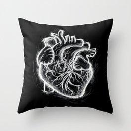 Telltale Heart Throw Pillow